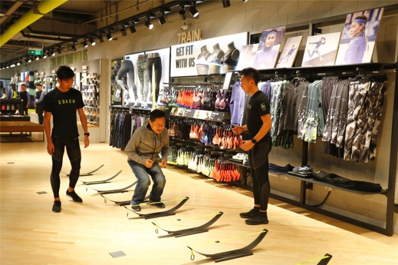 2b9029c35 The cooperation between NIKE and Pousheng International(YYsports) to open  NIKE Running store leads to form store matrix including NIKE Running