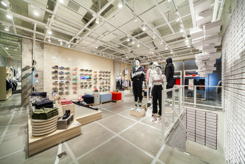 f06ce1a01ad4 ... promo code for different from other nike kicks lounge experience shop  this shops decoration filled more